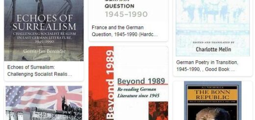 German Literature from 1945 to 1990 1